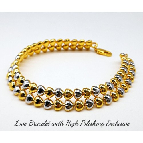 LOVE BRACELET WITH HIGH POLISHING EXCLUSIVE